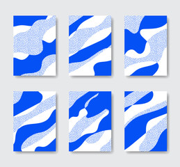 Organic Abstract Background Collection