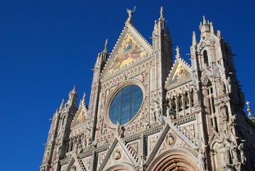Siena Cathedral; spire; landmark; building; cathedral