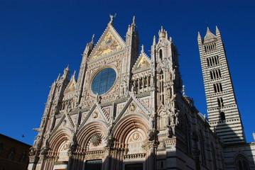 Siena Cathedral; spire; building; landmark; cathedral