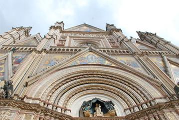 Orvieto Cathedral; historic site; building; landmark; architecture