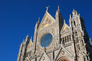 Siena Cathedral; spire; landmark; building; cathedral