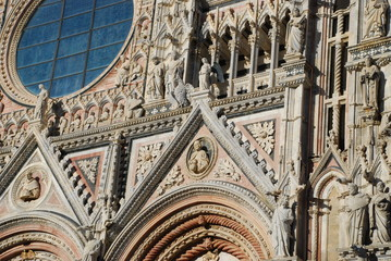 Siena Cathedral; building; landmark; cathedral; architecture