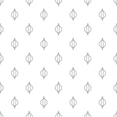 Dough rolling pin pattern vector seamless