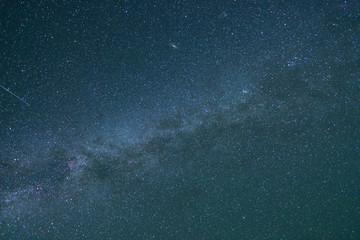 星空 北アルプス・野口五郎岳からの眺め