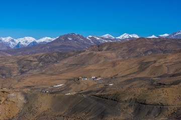 Amazing Landscape in Spiti Valley