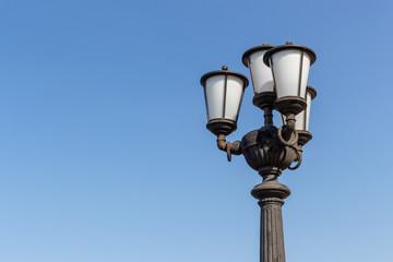Streetlamp and the sky