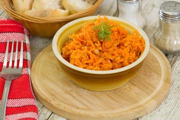carottes râpées