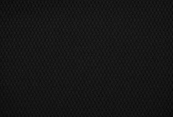 Black Mesh Sports Jersey Texture Up Close