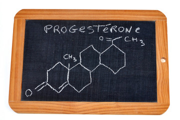 Formule chimique de la progestérone