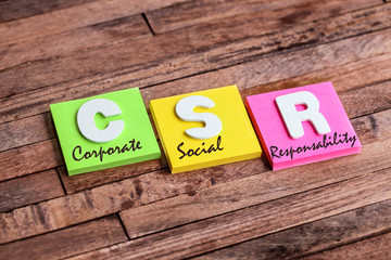 post-it acronym : CSR