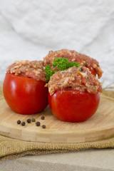 Fototapete - tomates farcies