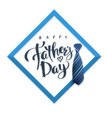 Happy Father's Day greeting card.