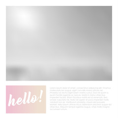 Social media banner template for your blog or business.  Cute pastel pink design