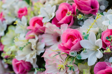 Beautiful flowers decorate in event