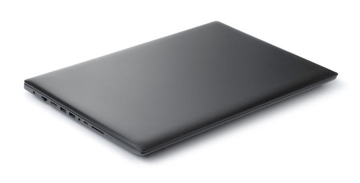 Closed  black laptop