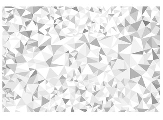white and grey polygon abstract background vector illustration