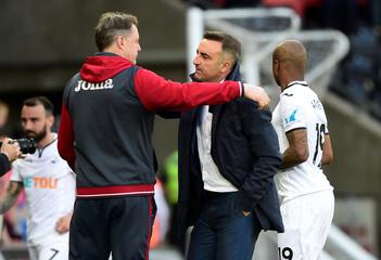 Premier League - Swansea City vs Stoke City