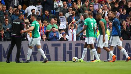 Premier League - Crystal Palace vs West Bromwich Albion