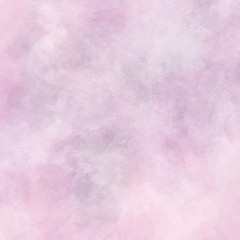 Abstract hand painted watercolor background in pinkish colors, vector illustration