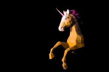 Unicorn - a mythical being symbolizing integrity