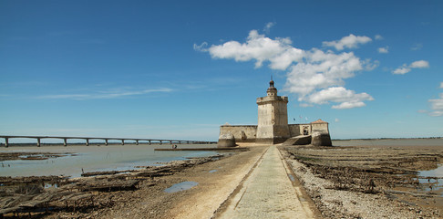 Poster Fortification Fort Louvois à Bourcefranc au pied de l'île d'Oléron