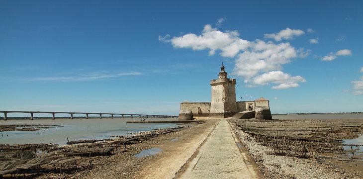 Fort Louvois à Bourcefranc au pied de l'île d'Oléron