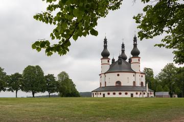 Pilgerreise, Dreifaltigkeitskirche Kappl bei Waldsassen in Bayern, Deutschland