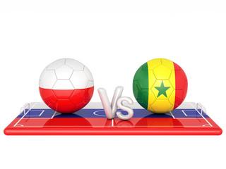 Soccer 3d render illustration