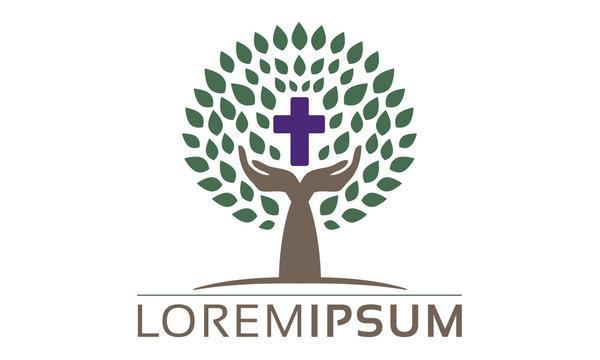 Undertaker Bestattungen Glaube Gottesdienst Kirche Logo