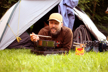 Camping Ravioli Kochen