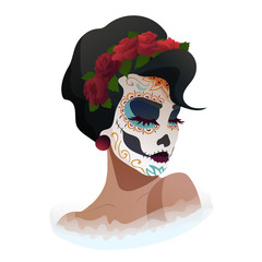 Catrina, Day of the Dead symbol of Mexico