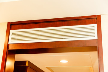 air condition in hotel room