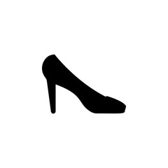 High heel shoes icon. Element of theter for mobile concept and web apps. Detailed High heel shoes icon can be used for web and mobile. Premium icon