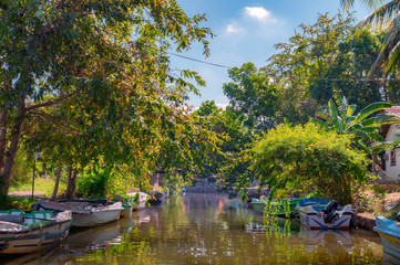 Dutch canal in Negombo.