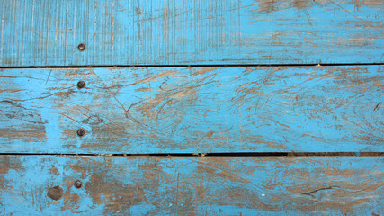 Hintergrund, Textur: Verwittertes Holz, blau