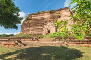 Pahtodawgyi Pagoda, Mingun, Mandalay region, Myanmar