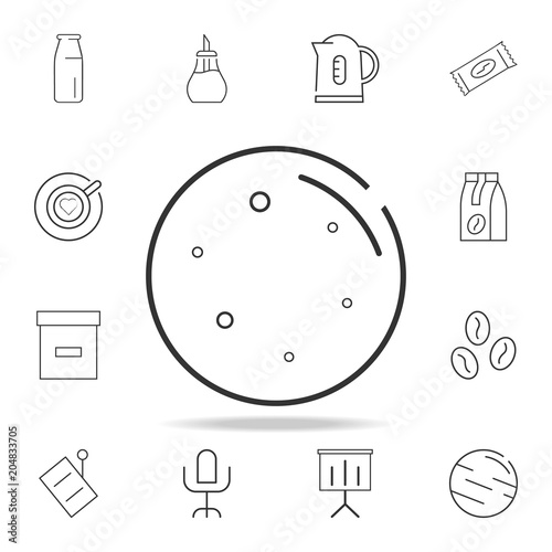 Moon Line Icon Detailed Set Of Web Icons And Signs Premium Graphic