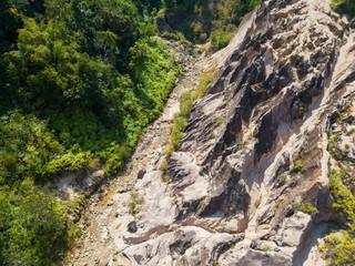 Aerial view landscape of canyon at grand canyon Kapong, Phang nga