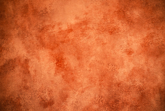 Classic rust-colored painterly texture or background