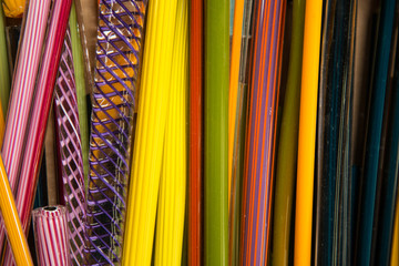 Colorful Glass ROds