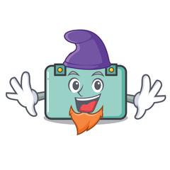 Elf suitcase character cartoon style
