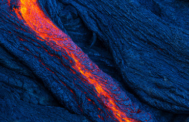 Canvas Prints Volcano Lava