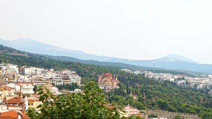 Thessaloniki city view
