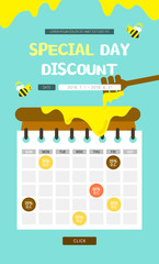 Discounted Events Page Design