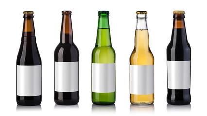 Papiers peints Biere, Cidre bottles of beer