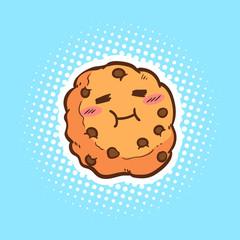 cute cookies vector cartoon