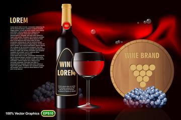 Red Vine editable template