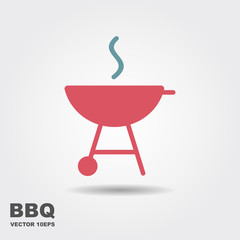 Barbecue Icon Vector.
