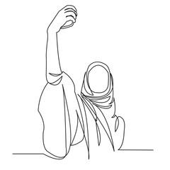 Muslim woman doing a photograph06