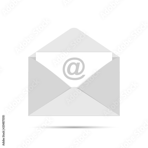 Mail Sign Icon Newsletter Envelope Template Vector Eps 10